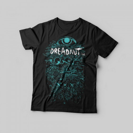 Dreadnut Inc. Shirt Schwarz